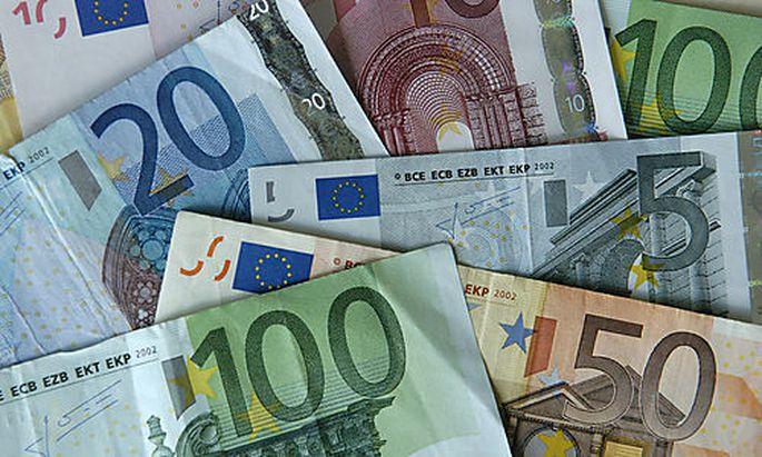 Symbolbild Geld, Euro