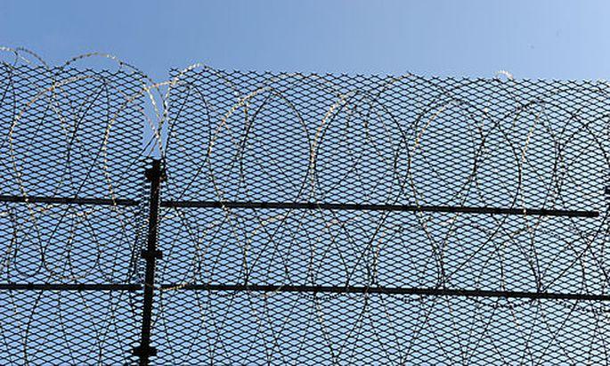Gef�ngnis, Straftanstalt, Freiheit, Strafe, Haft Foto: Clemens Fabry