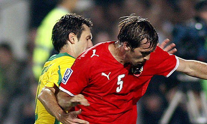 FUSSBALL - FIFA WM 2010, Quali, LTU vs AUT