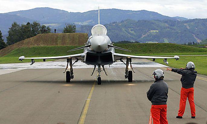 Eurofighter, Zeltweg