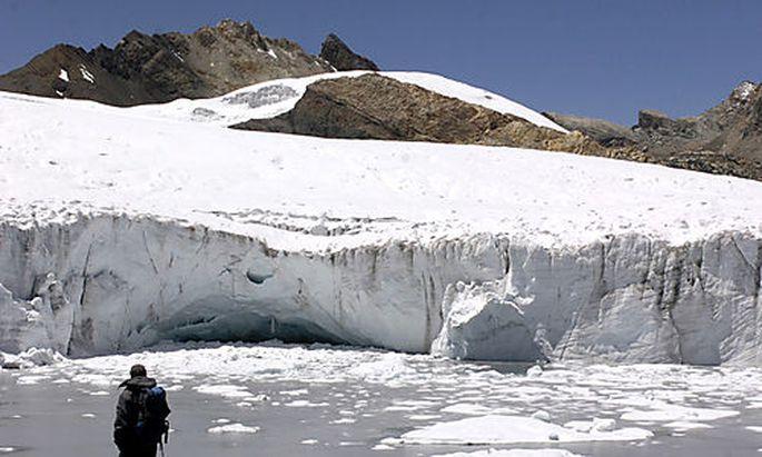 Schmelzen die Gletscher?