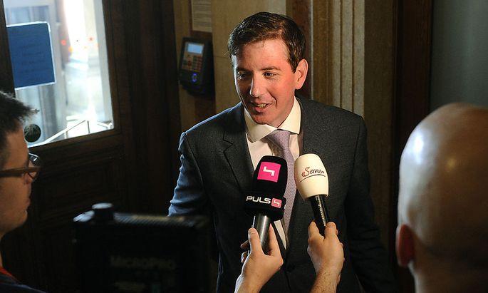 ÖVP-Generalsekretär Peter McDonald