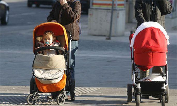 Familienleistungen machen Prozent Einkommens
