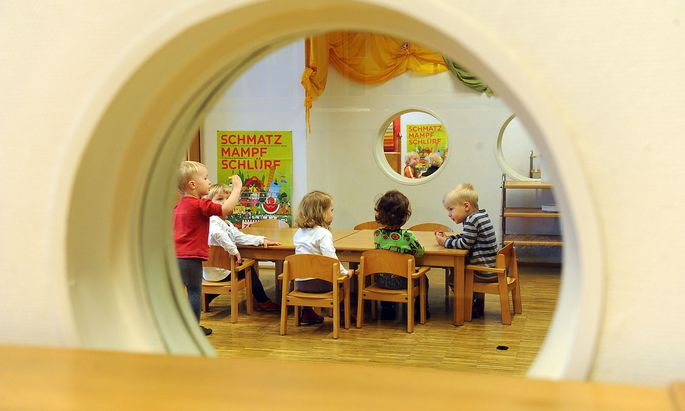 """Was genau die """"neue Normalität"""" für Kindergärten bedeutet, war bis zuletzt unklar."""