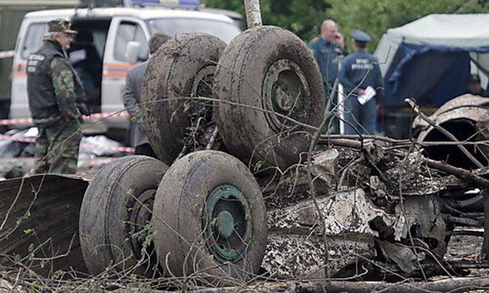Russland Tupolew Absturz