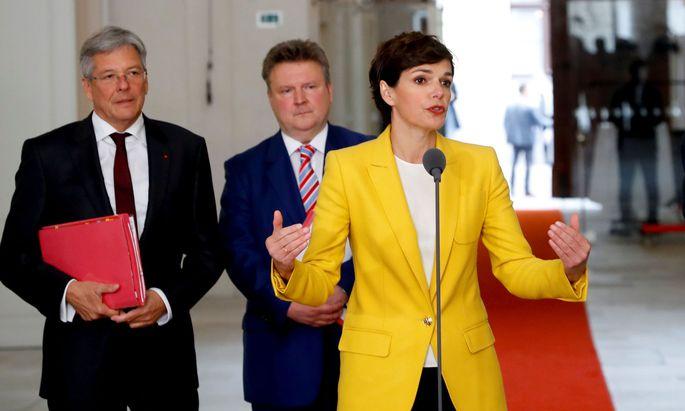 Beim Parteitag im Juni setzt die SPÖ ihre Statutenreform um und reduziert die Zahl der Stellvertreter auf sechs - die Landeshauptmänner Peter Kaiser und Michael Ludwig sollen vertreten sein (Archivbild)
