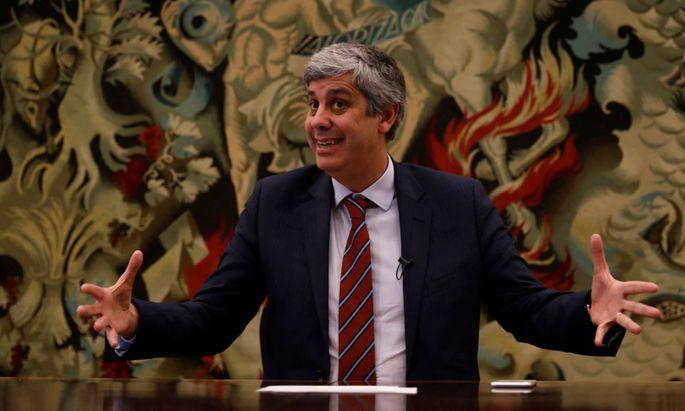 Der Finanzminister Portugals, Mário Centeno, leitet ab Mitte Jänner die Sitzungen der Euro-Gruppe.