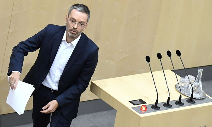 Ex-Innenminister Herbert Kickl (FPÖ) meint, dass ein Flüchtlingswelle aus Bosnien droht