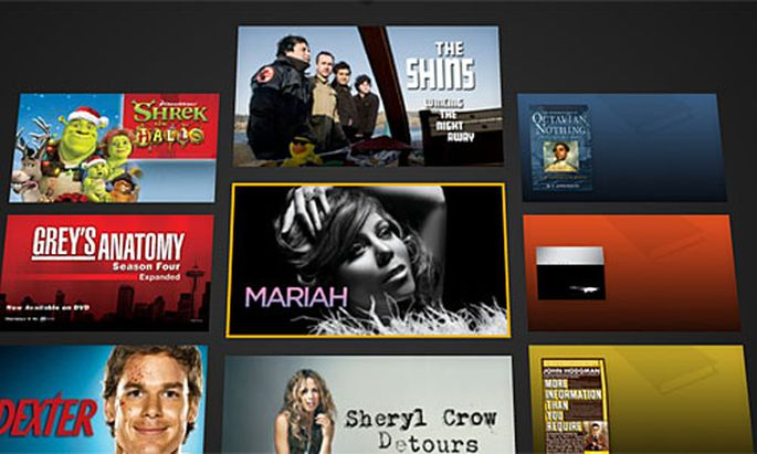 Amazons WindowShop, Screenshot
