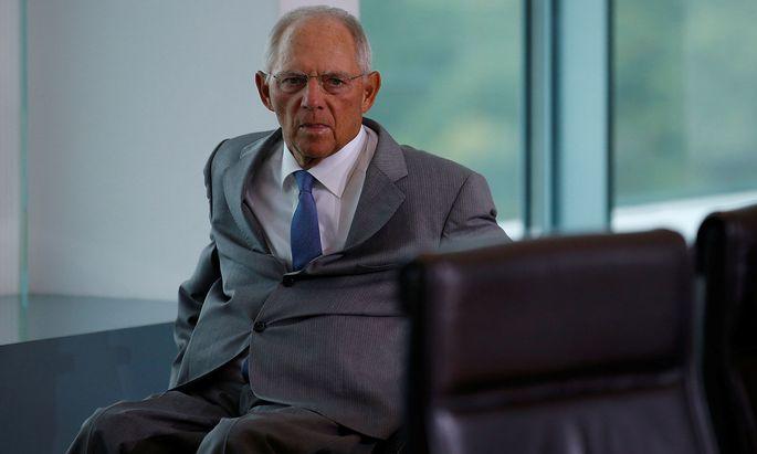 Archivbild von Wolfgang Schäuble - Das CDU-Urgestein ist derzeit Präsident des deutschen Bundestags.