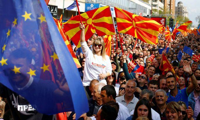 Nordmazedonien war grünes Licht für Verhandlungen zugesagt worden, wenn es alle Bedingungen erfüllt. Doch dieses Versprechen wurde nun gebrochen (Archivbild).