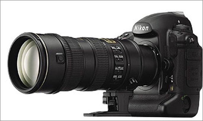 Nikon D3X mit 24-Megapixel-Sensor
