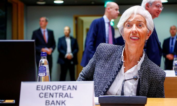 Euro zone finance ministers meeting in Brussels