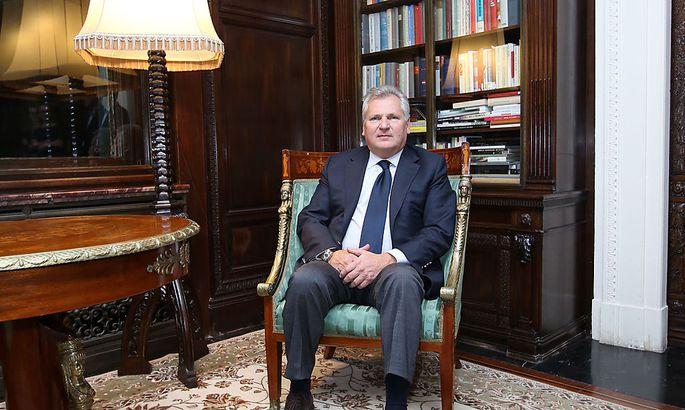 Polens Ex-Präsident Alexander Kwasniewski