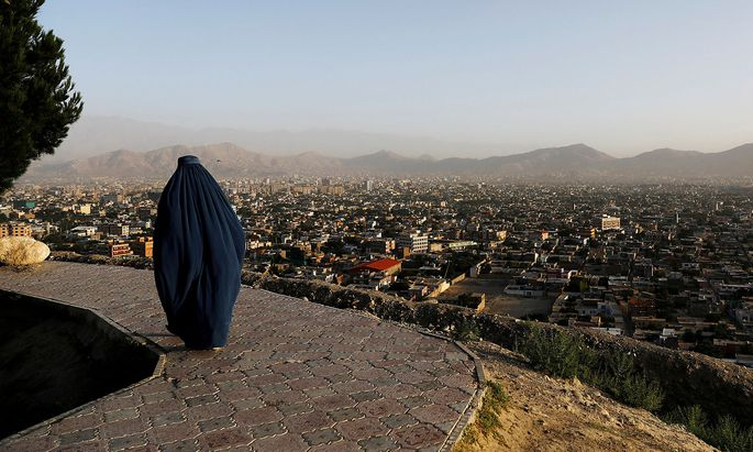 Blick über Kabul.