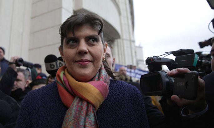 Laura Codruţa Kövesi erhielt 26 Stimmen.