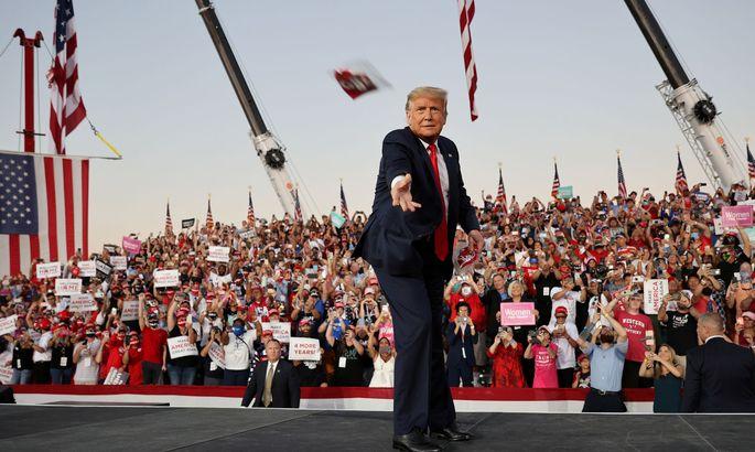 Trump negativ getestet und nicht mehr ansteckend
