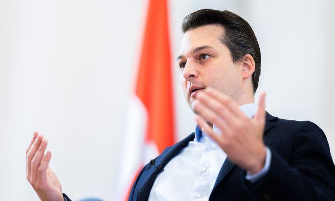 Dominik Nepp wird am Sonntag zum Wiener FPÖ-Chef gekürt.