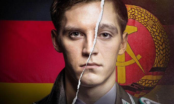 Deutschland 83 Serie Der DDR-Bürger Martin Rauch (Jonas Nay) wird bei der deutschen Bundeswehr eingeschleust.