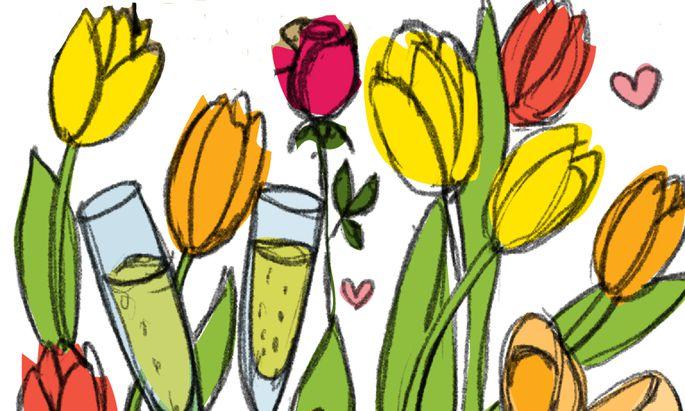 Am 14. Februar ist Valentinstag, das romantische Dinner muss dieses Mal zu Hause stattfinden.