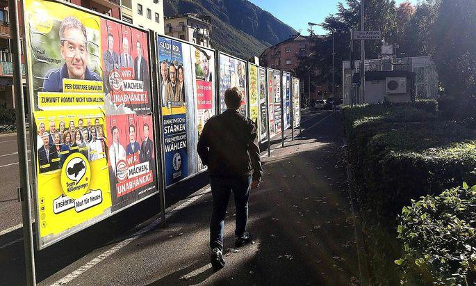Das Team Köllensperger und die Lega kosteten die Südiroler Freiheitlichen und die Süd-Tiroler Freiheit Stimmen.