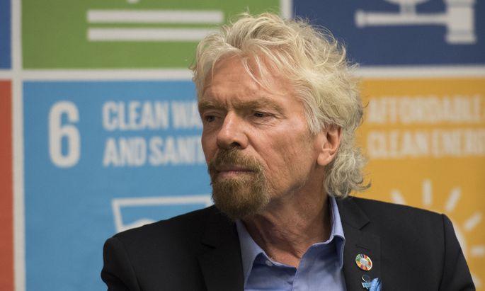 Inselbesitzer Richard Branson