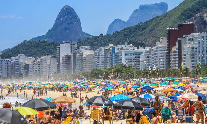 Rio de Janeiro Mitte Jänner.