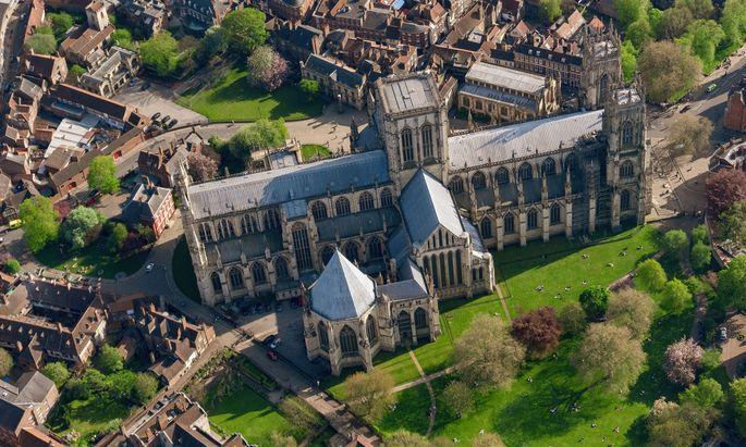 Symbolbild: Die mittelalterliche Kathedrale von York.