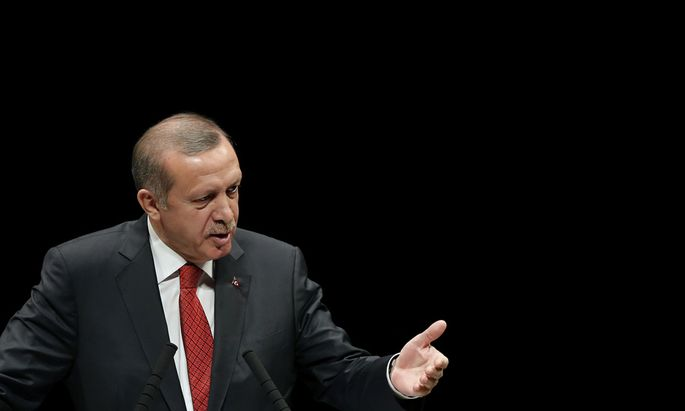 Turkish Prime Minister Recep Tayyip Erdogan Speaks In Tokyo