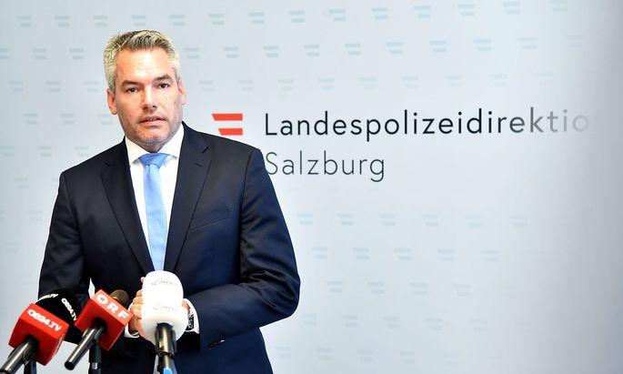 PRESSEKONFERENZ ZUM THEMA 'SOZIALLEISTUNGSBETRUG - AKTUELLE ENTWICKLUNGEN': NEHAMMER