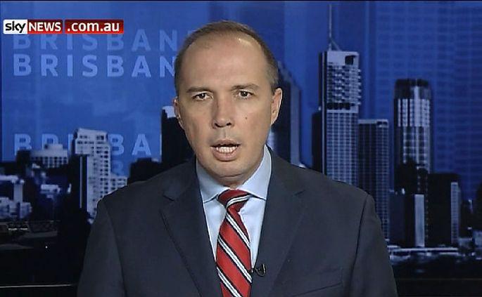 Einwanderungsminister Peter Dutton