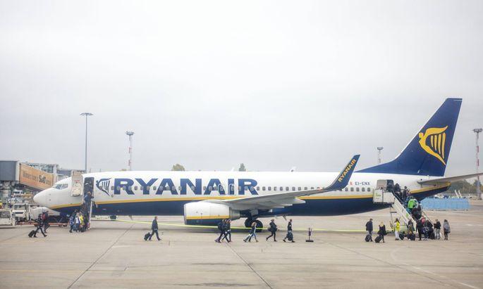 October 26 2016 Berlin Germany FILE Passengers board a Ryanair flight in Berlin s Schonfeld i