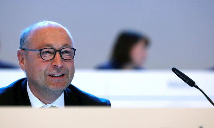 Vonovia-Chef Rolf Buch will sich Deutsche Wohnen einverleiben