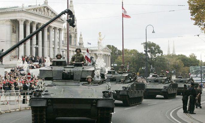 Bundesheer: Panzer-Armee wird Geister-Division