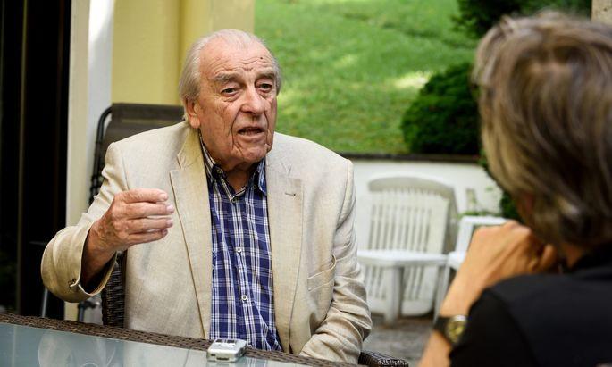 """Robert Lichal (ÖVP), Verteidigungsminister von 1987 bis 1990: """"Das war ein Irrtum der Ministerin."""""""
