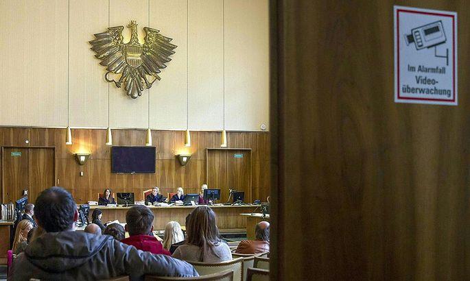 Archivbild: Blick in Grazer Gerichtssaal