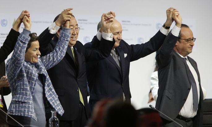 Das Ergebnis des Klimagipfels wurde von den Verhandlern am Samstagabend bejubelt. 195 Staaten haben sich auf ein Basispapier geeinigt. Dessen Umsetzung steht noch aus.