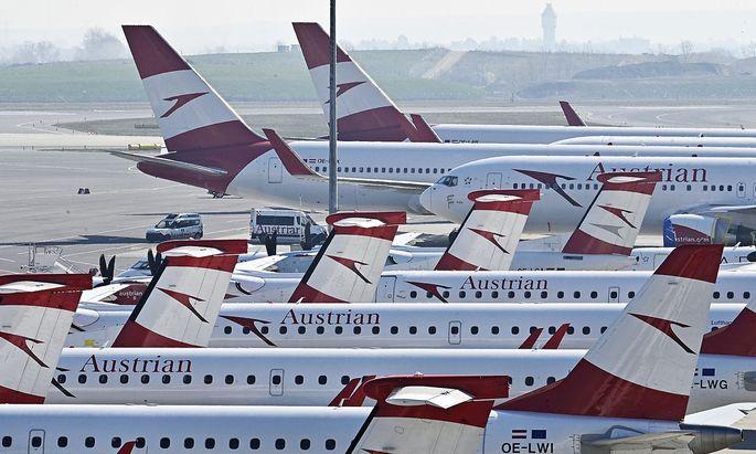 FLUGZEUGE DER AUSTRIAN AIRLINES AG
