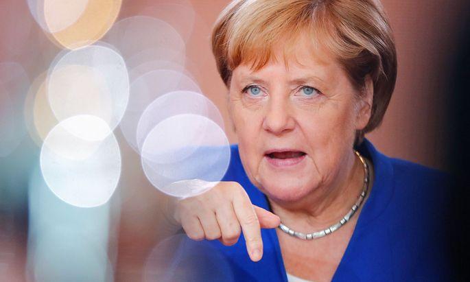 Deutschlands Kanzlerin Angela Merkel