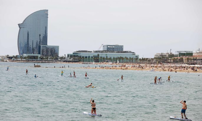 SPAIN-TOURISM-BARCELONA