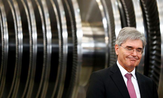 Zufriedener Siemens-Chef Joe Kaeser: Viertes Quartal war fulminant