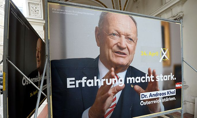Präsentation der Kampagne für Andreas Khol