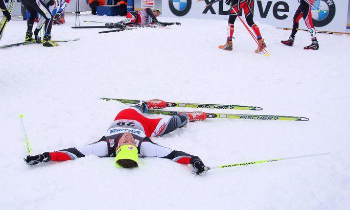 Archivbild: Johannes Dürr 2011 nach einem Weltcuprennen in Russland.
