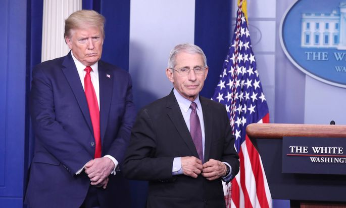 Donald Trump und Anthony Fauci