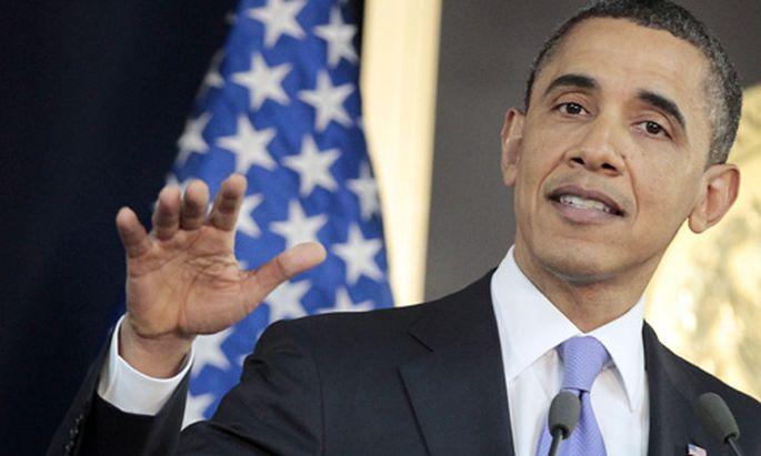 Wahlkampf Barack Obama steigt