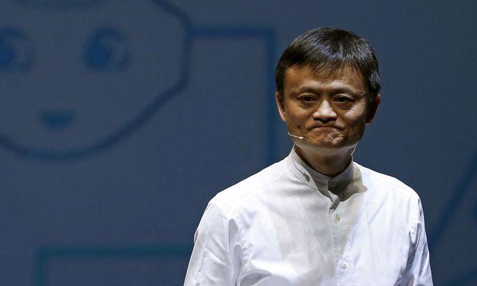 Jack Ma kontrolliert den Finanzkonzern Ant