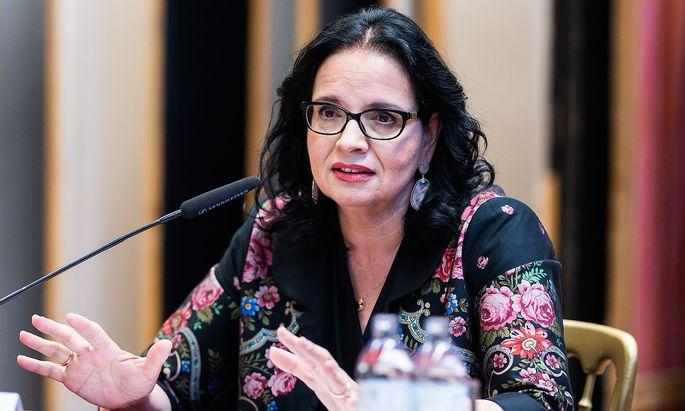Staatssekretärin Andrea Mayer
