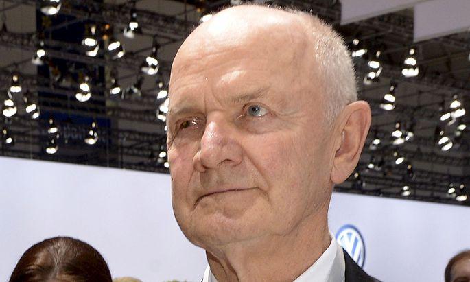Ferdinande Piech hatte VW-Chef Winterkorn früher als bekannt eingeweiht.