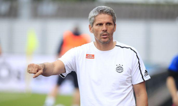 Die Verletztenliste bereitet SCR-Coach Kühbauer Kopfzerbrechen.