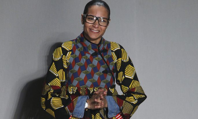 Designerin Stella Jean wird für die Nachwuchsdesigner auch als Mentorin zur Verfügung stehen.